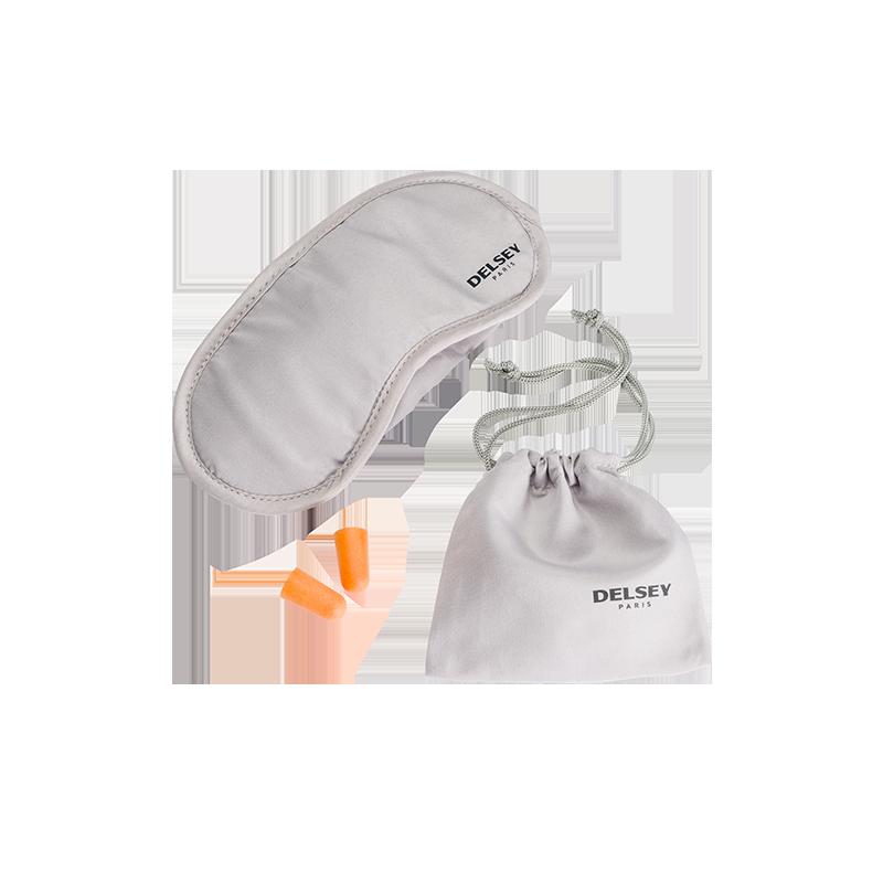 DELSEY Eye mask + ear plugs 3940030